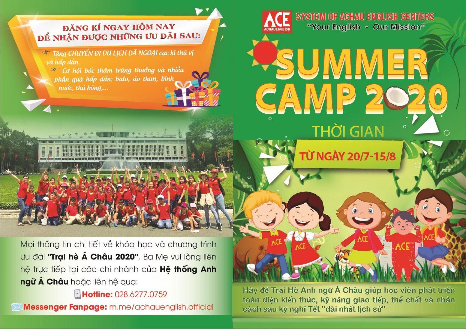 Brochure Trại hè Anh ngữ Á Châu